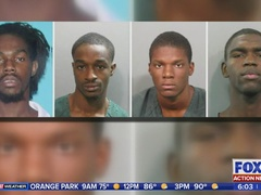 JSO searches for 4 murder suspects after body found in backyard