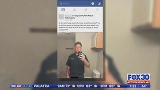Clay County firefighter out of a job after lewd photo