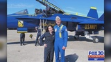 Action News Jax reporter shares memory of flying with Blue Angels pilot Capt. Jeff Kuss