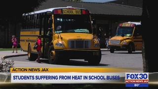Parents worried over lack of air conditioning on Northeast Florida school buses