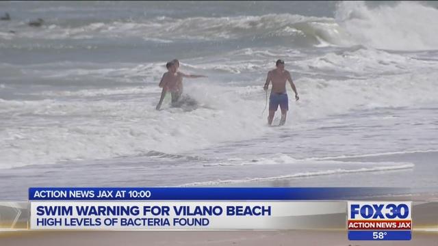 Florida Department Of Health Lifts Swim Advisory For Vilano Beach Wjax Tv