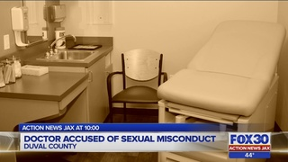 Jacksonville doctor accused of sexual misconduct