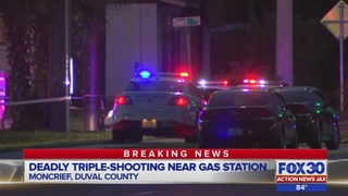 Jacksonville police investigating deadly triple shooting on Golfair Boulevard