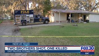 2 brothers shot, one killed