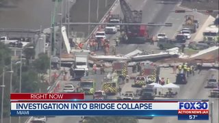 Investigation into bridge collapse