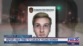 Report: Man tried to carjack young woman