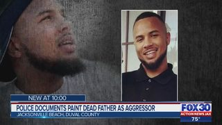 Police documents paint dead father as aggressor