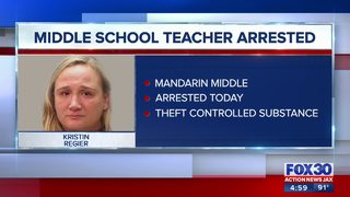 Mandarin Middle School teacher arrested