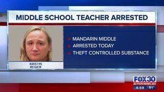Mandarin Middle School teacher arrested