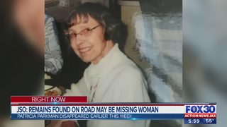 JSO: Remains found on road may be missing woman